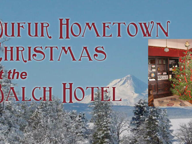Turn Christmas into Blissmas, Historic Balch Hotel
