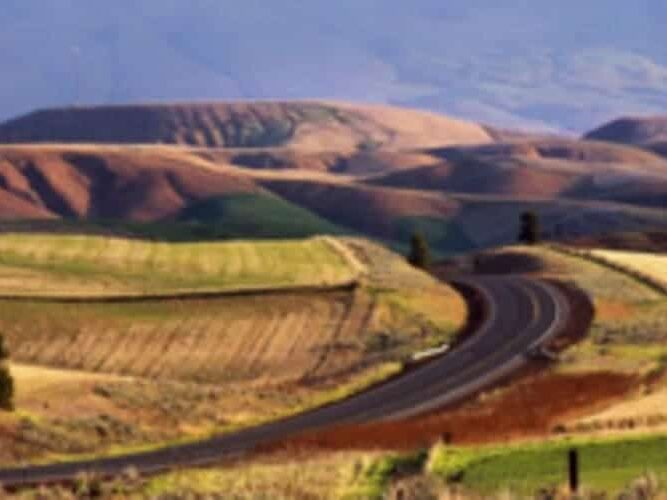 Colorful Rolling Hills