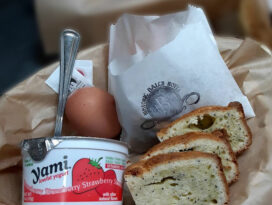 Guests rave about our simple breakfast
