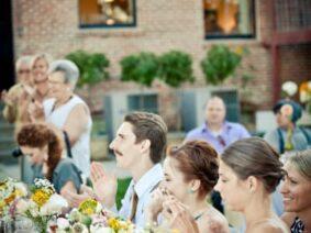 Wedding reception, Balch Hotel