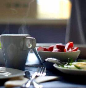 Breakfast, Historic Balch Hotel