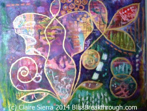 Claire Sierra art at Balch hotel