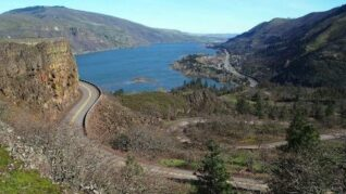 View of the Columbia River, Rowena Crest The Dalles OR