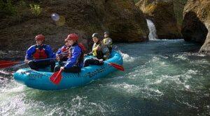 Rafting on the White Salmon River, Husum WA
