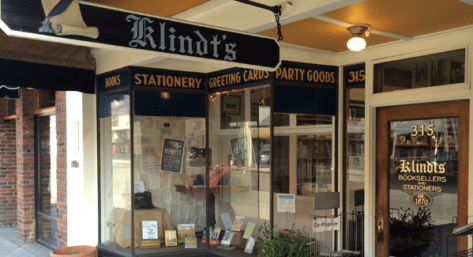 Klindt's Booksellers and Stationers, The Dalles OR