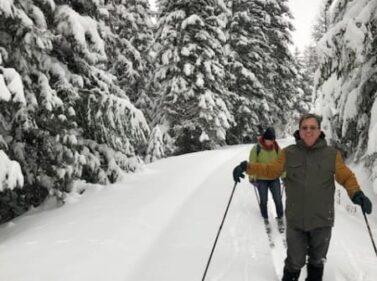 Cross-country skiing, Dufur OR