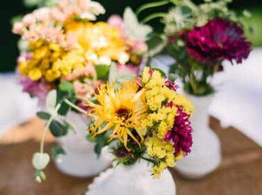 Floral arrangements, Balch Hotel