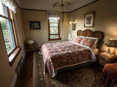A view of one of our rooms