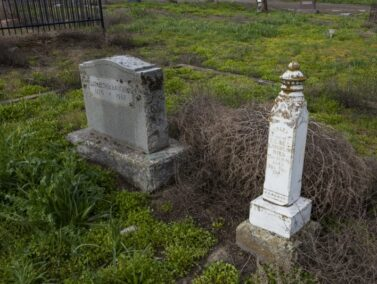 Pioneer gravestones. Dufur OR