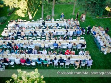 Wedding dinner, Balch Hotel