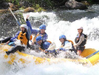 White water rafting, Deschutes River OR