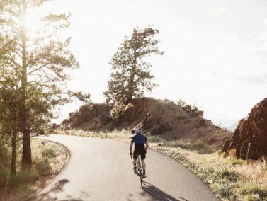 Cycling around Dufur, Oregon